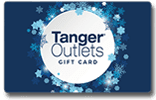 Blue Snowflakes Gift Card